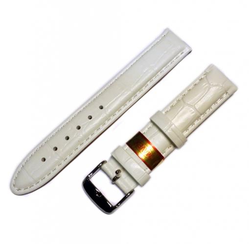 b3ff352e9 Biely remienok Mavex na hodinky 18 mm