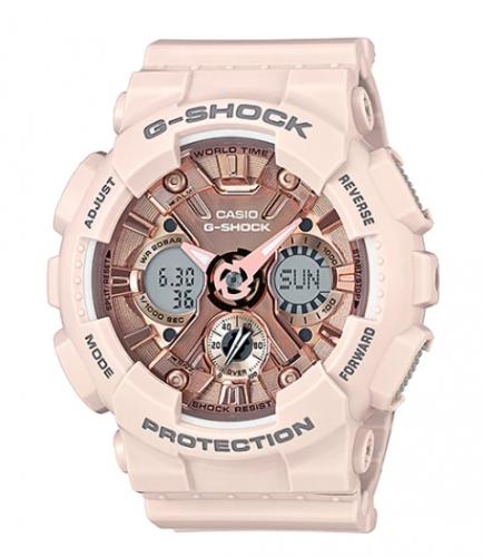 hodinky Casio G-SHOCK unisex damske panske Casio G-SHOCK GMA S120FM 7A1 d80f79d63f