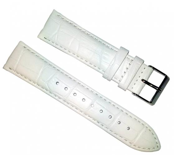 128297e2d Remienok Mavex na hodinky 22 mm biely