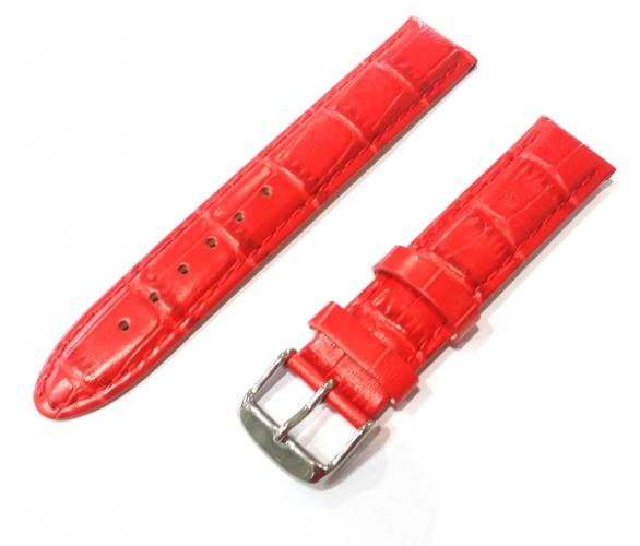 cee1f165a Červený remienok Mavex na hodinky 18 mm